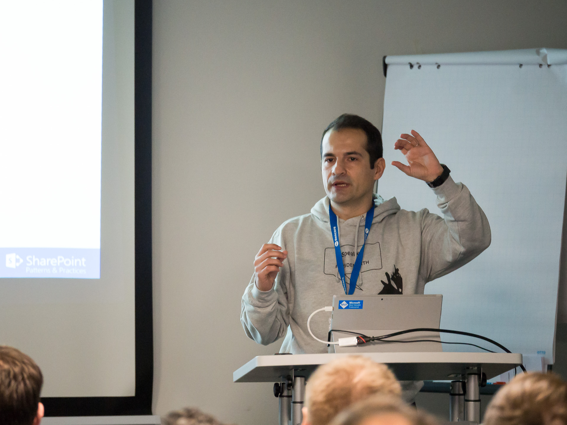 Giuliano de Luca mit einem komplexen SPfx Beispiel