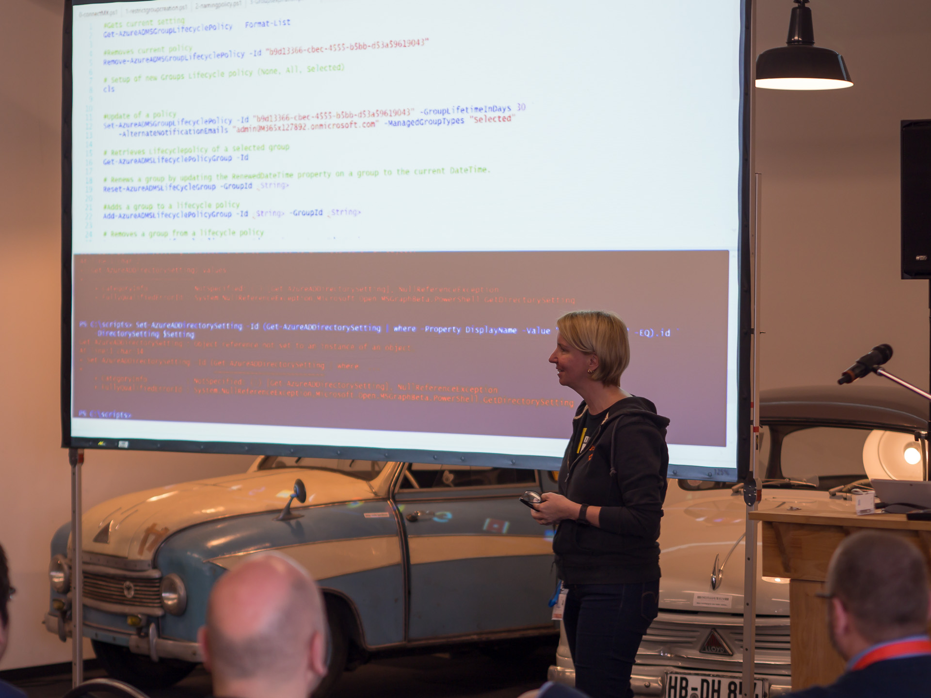 Martina Grom mit Best Practrices in Office 365